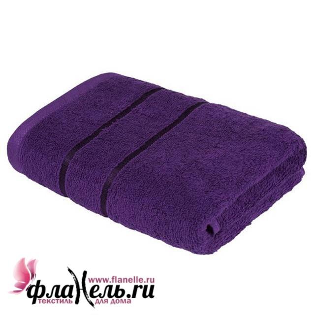 Полотенце Ecotex Египетский Хлопок фиолетовый 70х130 см