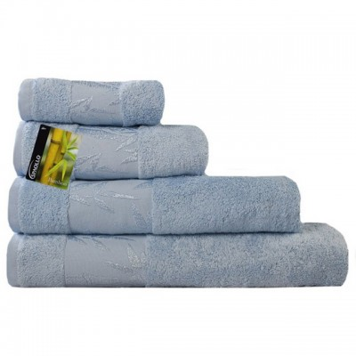 Полотенце Ecotex Бамбук Классик голубое 40*70 см