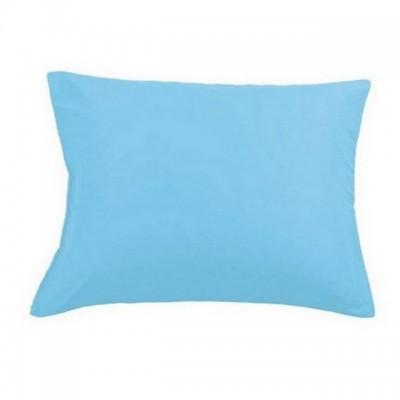 Наволочки 50х70 см (2 шт.) сатин голубые