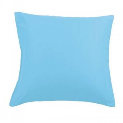 Наволочки 70х70 см (2 шт.) сатин голубые