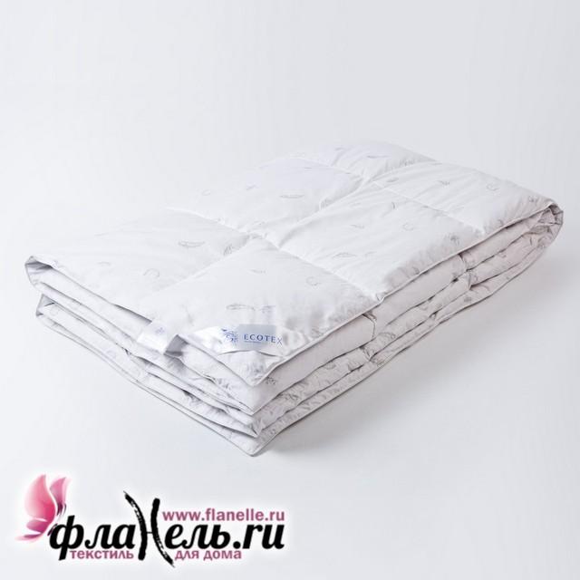 Одеяло пуховое Ecotex Феличе кассетное 140х205 см