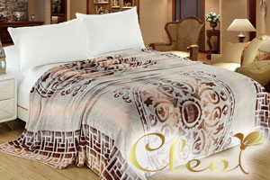 Пледы Cleo – уютные и доступные