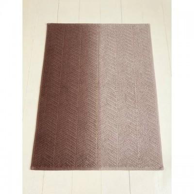 Коврик Luxberry Art1 бежевый/коричневый 70х120 см