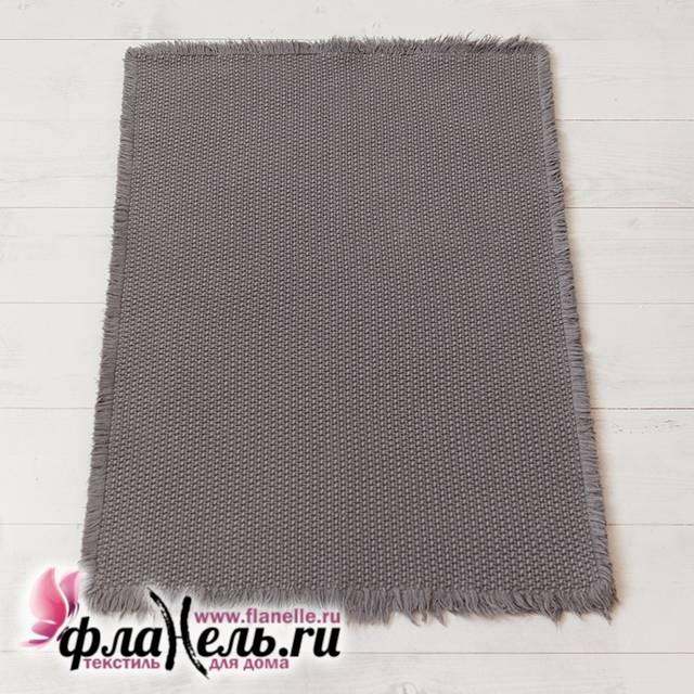 Коврик Luxberry Casual серый 55х75 см