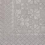 Коврик Luxberry Vintage2 светло-серый 70х100 см