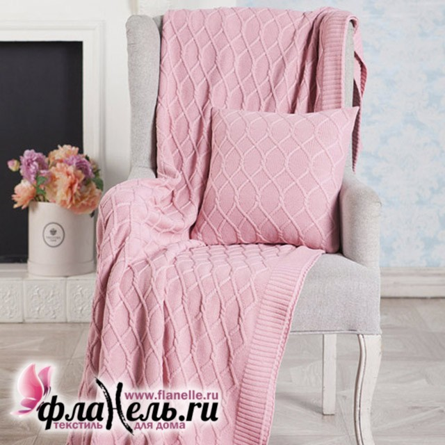 Плед Luxberry Lux 34 розовый