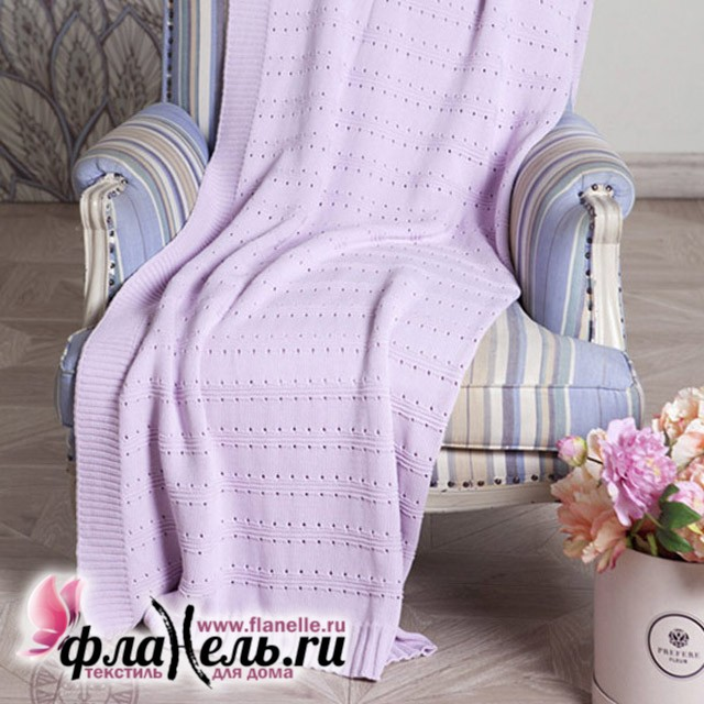 Плед Luxberry Lux 41 светло-сиреневый