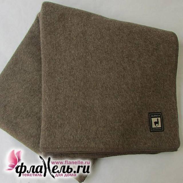 Одеяло-плед из шерсти альпаки и мериноса Incalpaca OA-3