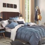 Комплект постельного белья  с простыней на резинке Asabella 1023/160