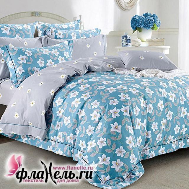Комплект постельного белья  с простыней на резинке Asabella 1121/160