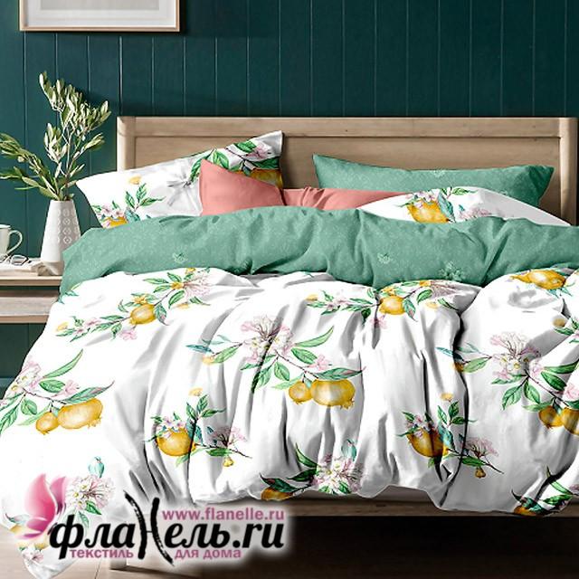 Комплект постельного белья  с простыней на резинке Asabella 1151/160