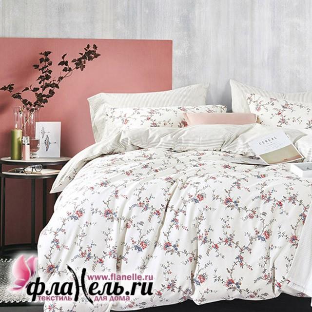 Комплект постельного белья  с простыней на резинке Asabella 494/160