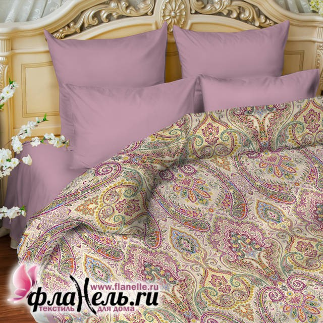 Комплект постельного белья Balimena бязь Carioca lilac (наволочки 70*70 см)