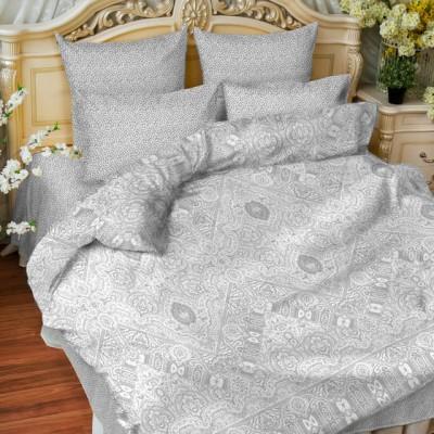 Balimena бязь Ornament grey (наволочки 50*70 см)