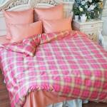 Комплект постельного белья Balimena мако-сатин CL-7021 pink (наволочки 70х70 см)
