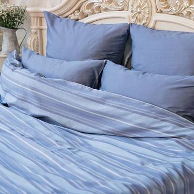 Balimena мако-сатин CL-8869 Blue (наволочки 70*70 см)