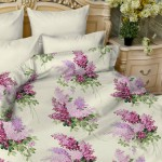 Комплект постельного белья Balimena мако-сатин Ricardo lilac (наволочки 50х70 см)