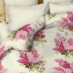Комплект постельного белья Balimena мако-сатин Ricardo pink (наволочки 50х70 см)