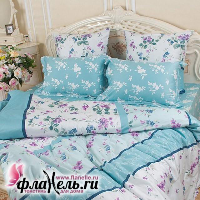 Комплект постельного белья Balimena Магия Шелка Горная лаванда