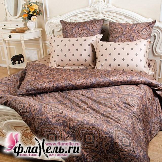 Комплект постельного белья Balimena Магия Шелка Пачули карамель