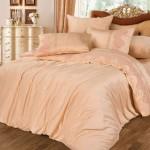 Комплект постельного белья Cleo Bamboo Satin 024-BS из сатина с вышивкой