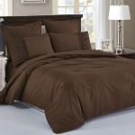 Комплект постельного белья Cleo Cotton Lace 010-LE из однотонного сатина