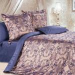 Комплект постельного белья Ecotex Estetica Земфира в чемодане