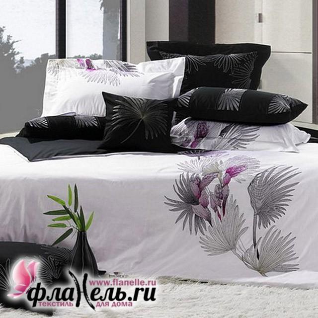 Комплект постельного белья KingSilk C-23 сатин с вышивкой