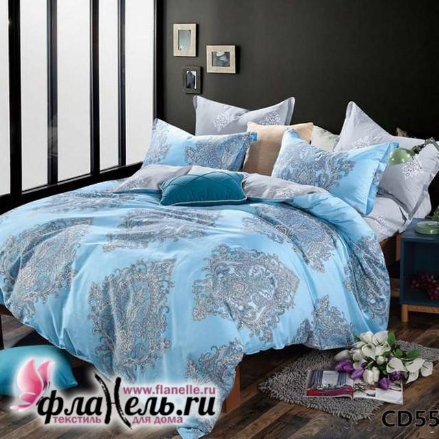 Комплект постельного белья KingSilk Arlet CD-550 печатный сатин