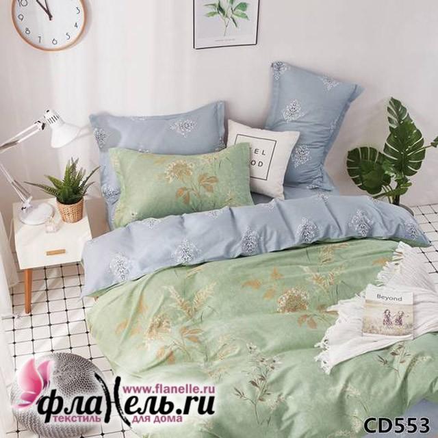 Комплект постельного белья KingSilk Arlet CD-553 печатный сатин