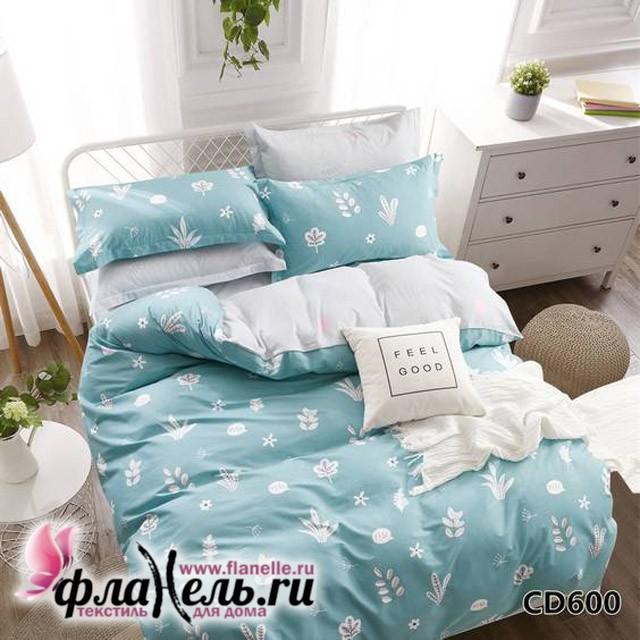 Комплект постельного белья KingSilk Arlet CD-600 печатный сатин
