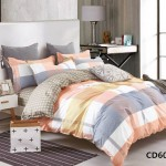 Комплект постельного белья KingSilk Arlet CD-605 печатный сатин