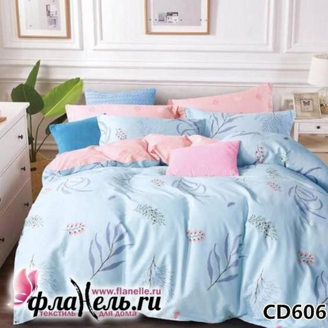 Комплект постельного белья KingSilk Arlet CD-606 печатный сатин