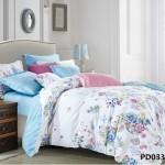 Комплект постельного белья KingSilk Arlet PD-033 печатный сатин