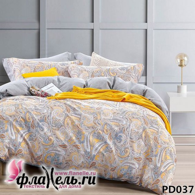 Комплект постельного белья KingSilk Arlet PD-037 печатный сатин