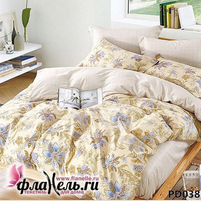 Комплект постельного белья KingSilk Arlet PD-038 печатный сатин