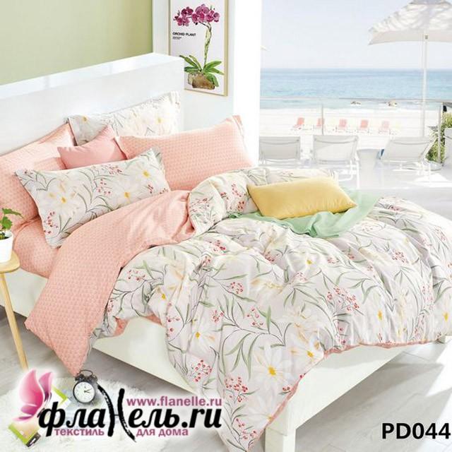 Комплект постельного белья KingSilk Arlet PD-044 печатный сатин