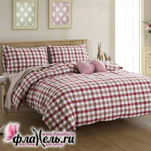 Комплект постельного белья Сайлид сатин пигментный N-04