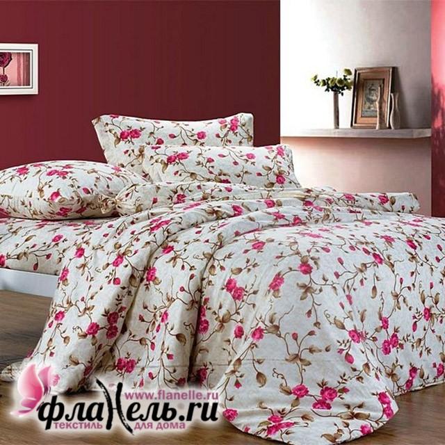 Комплект постельного белья Сайлид поплин модель A-107