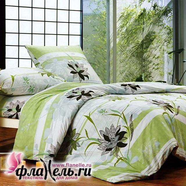 Комплект постельного белья Сайлид поплин модель A-108-2