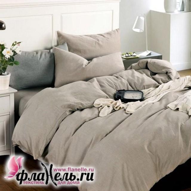Комплект постельного белья Valtery лен с хлопком LE-01