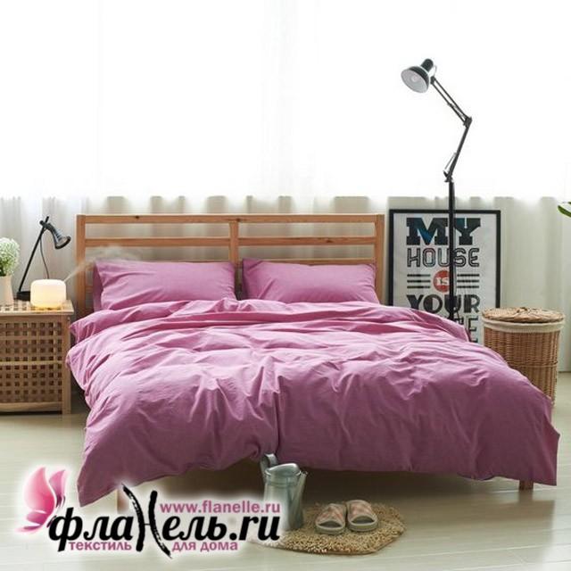 Комплект постельного белья Valtery лен с хлопком LE-06