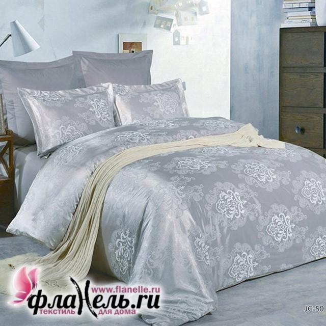 Комплект постельного белья из сатин-жаккарда Valtery JC-50, размер 1,5-спальный
