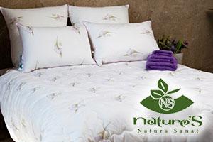 Одеяла и подушки от Nature's