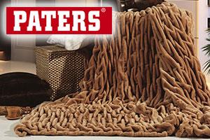Пледы Paters из искусственного меха