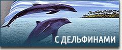 Постельное белье с дельфинами